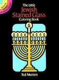 Little Jewish Stained Glass Coloring Book