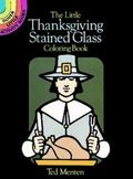 Little Thanksgiving Stained Glass Coloring Book