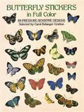 Butterfly Stickers in Full Color 87 Pressure-Sensitive Designs