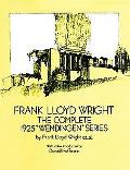 Frank Lloyd Wright The Complete 1925