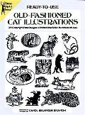 Ready-To-Use Old-Fashioned Cat Illustrations 381 Copyright-Free Designs, Printed One Side, H...