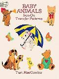 Baby Animals Iron-On Transfer Patterns