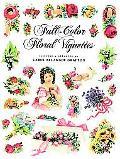 Full-Color Floral Vignettes