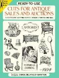 Ready-To-Use Cuts for Antique Sales and Auctions 512 Different Copyright-Free Designs Printe...