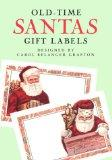 Old-Time Santas Gift Labels: 8 Pressure-Sensitive Labels