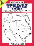 Ready-To-Use Outline Maps of U.S. States and Regions 161 Different Copyright-Free Maps Print...