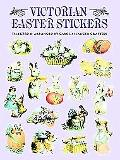 Victorian Easter Stickers 68 Full-Color Pressure-Sensitive Designs
