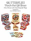 Butterflies Punch-Out Gift Boxes