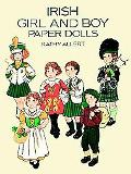 Irish Girl and Boy Paper Dolls