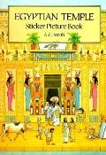 Egyptian Temple Sticker Picture Book With 36 Reusable Peel-And-Apply Stickers