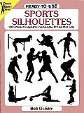 Ready-To-Use Sports Silhouettes 130 Different Copyright-Free Designs Printed One Side