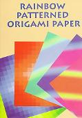 Rainbow Patterned Origami Paper