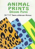 Animal Prints Origami Paper Sheets in 6 Different Patterns