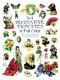 504 Decorative Vignettes in Full Color