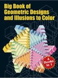 Big Book of Geometric Designs and Illusions of Color