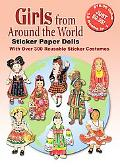 Girls From Around the World Sticker Paper Dolls