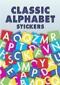 Classic Alphabet 168 Stickers