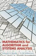 Mathematics For Algorithm And System Analysis