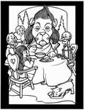 Land of Oz Stained Glass Coloring Book