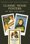Classic Movie Posters 16 Art Stickers