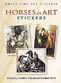 Horses in Art Stickers