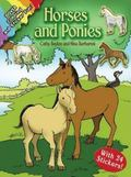 Horses And Ponies Coloring And Sticker Fun