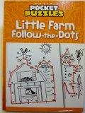Little Farm Follow-the Dots - Dover Pocket Puzzles