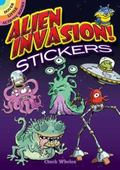 Alien Invasion! Stickers