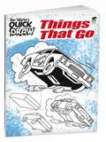 Tony Tallarico's QUICK DRAW Things That Go (Tony Tallarico Quick Draw) (English and English ...