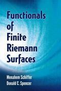 Functionals of Finite Riemann Surfaces