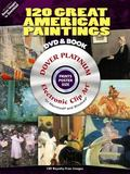 120 Great American Paintings Platinum CD-ROM and Book