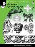 Dover Digital Design Source #9 : Gothic Ornament
