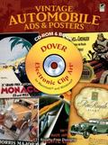 Vintage Automobile Ads and Posters CD-ROM and Book (Electronic Clip Art)