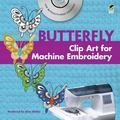 Butterfly Clip Art for Machine Embroidery