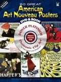 60 Great American Art Nouveau Posters Platinum DVD and Book (Dover Electronic Clip Art)