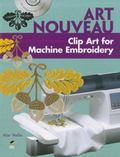 Art Nouveau Clip Art for Machine Embroidery
