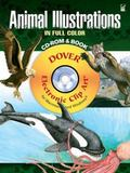 Animal Illustrations in Full Color CD-ROM and Book
