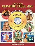 Full-Color Old-Time Label Art