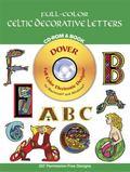 Full-Color Celtic Decorative Letters