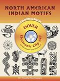 North American Indian Motifs 391 Different Copyright-Free Designs
