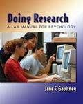 Doing Research A Lab Manual for Psychology