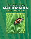 Fundamentals of Mathematics With Interactive Video Skillbuilder
