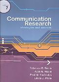 Communication Research: Strategies and Tactics