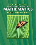 Fundamentals of Mathematics Non-media Version