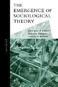 Emergence of Sociological Theory