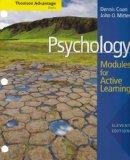 Cengage Advantage Books: Psychology: Modules for Active Learning with Concept Modules with Note-Taking and Practice Exams (Thomson Advantage Books)
