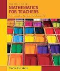 Mathematics for Teachers: Interactive Approach for Grade K-8