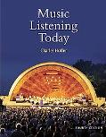 Music Listening Today (with 2 CD-ROM Set and Resource Center Printed Access Card)
