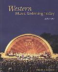 Western Music Listening Today