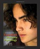 Essentials of Abnormal Psycholog